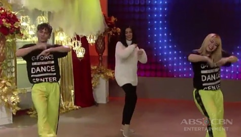 WATCH: Dimples Romana's first ever dance prod number with the G-Force on Magandang Buhay Image Thumbnail