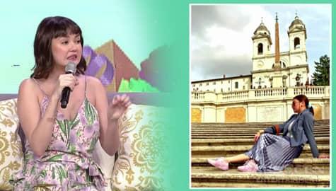Magandang Buhay: Ang kwento sa likod ng viral travel photo ni Angelica Image Thumbnail