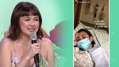 Magandang Buhay: Angelica, ikinuwento nang itinakbo siya sa hospital Image Thumbnail