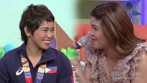 Magandang Buhay: Momshies, napansin ang new look ni Hidilyn Diaz Image Thumbnail
