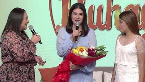 WATCH: Dimples Romana as guest momshie on Magandang Buhay Image Thumbnail