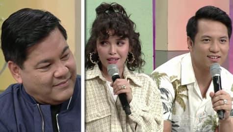 Magandang Buhay: KZ at TJ, live na kinuhang ninong si Martin sa kanilang kasal Image Thumbnail