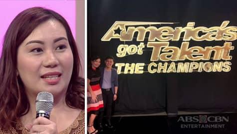 Magandang Buhay: Joan, sinabing wala talagang preparation si Marcelito para sa America's Got Talent Image Thumbnail