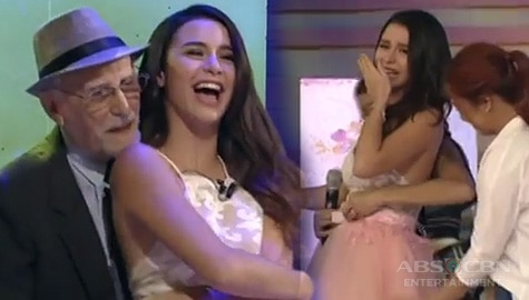 WATCH: Yassi Pressman in tears as her father surprises her on her 'first dance' Image Thumbnail