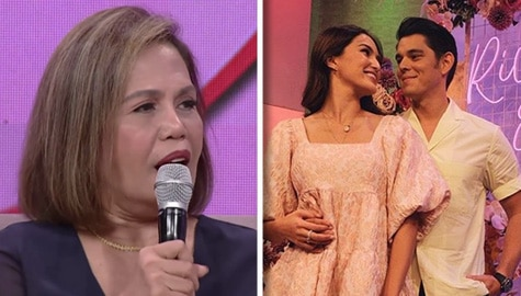 Magandang Buhay: Momshie Esther, sinabing matagal niya nang pangarap na ikasal na sina Sarah at Richard Image Thumbnail