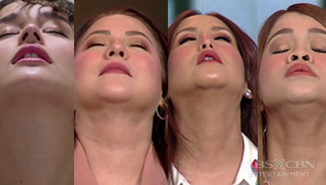 Momshie Karla, Jolina and Melai do the Liza Soberano challenge on Magandang Buhay Image Thumbnail