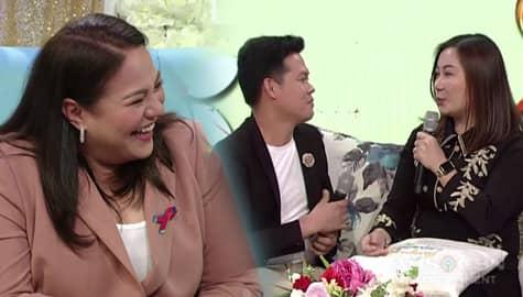 Magandang Buhay: Momshie Karla, cute na cute sa tawagan nina Marcelito at Joanne Image Thumbnail