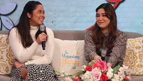 Magandang Buhay: Jmee, may message para sa kanyang ate na si Moira Image Thumbnail