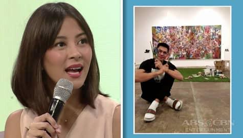 Magandang Buhay: Bianca, nagulat na isang painter din ang kanyang asawa Image Thumbnail