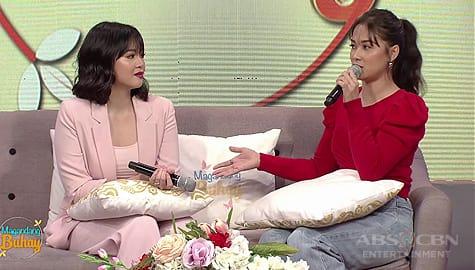 Magandang Buhay: Maja, ikinuwento kung paano nag-open up sa kanya si Janella Image Thumbnail