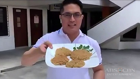 Magandang Buhay: Tortang Instant Noodles recipe Image Thumbnail