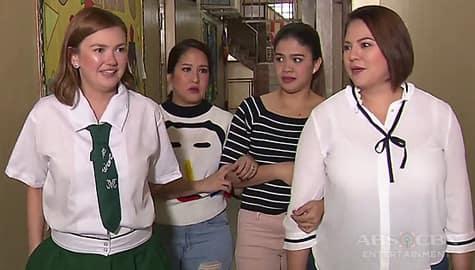 Angelica, tinuro kung saan ang nakakatakot na part ng kaniyang school Image Thumbnail