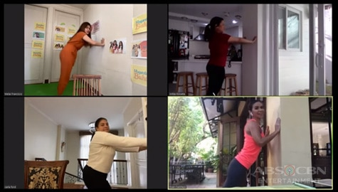 Simple home workout by Dyan Castillejo