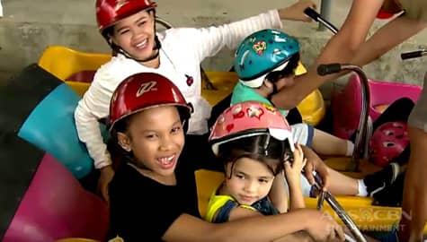 Magandang Buhay: Awra, Carlo, Xia at Jordan, sinubukan ang Zooc Ride Image Thumbnail