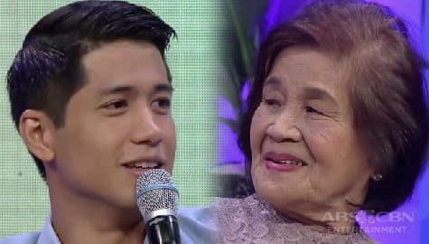 Aljur to Lola Alice on Magandang Buhay: