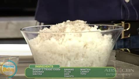 Magandang Buhay: Sardinas Fried Rice Image Thumbnail