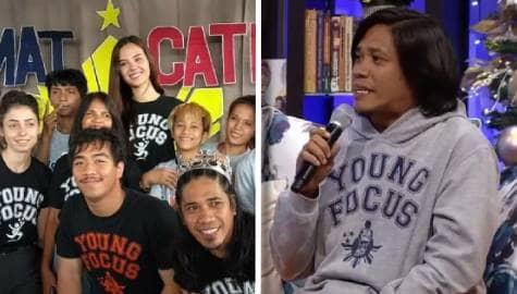 Magandang Buhay: Mark, ikinuwento kung paano sila natulungan ni Catriona Image Thumbnail