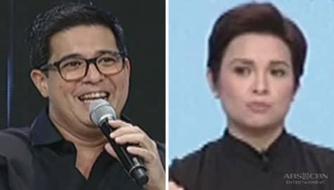 Aga Muhlach's kilig reaction after watching Lea's interview on Magandang Buhay Image Thumbnail