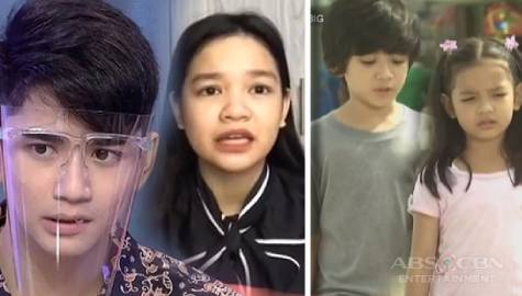 Xyriel and Zaijian reenact their scenes from 'Ikaw Ay Pag-ibig'