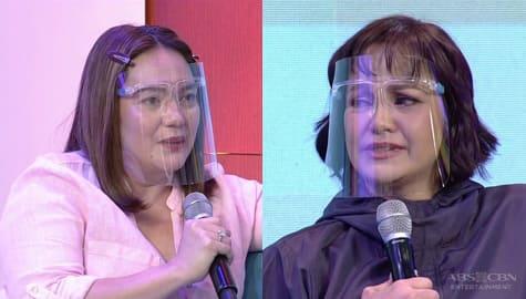 Magandang Buhay: Sylvia at Eula, nagkaiyakan nang magbigay ng mensahe para sa isa't isa Image Thumbnail