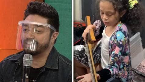 Magandang Buhay: Nyoy, naturuan ang kanyang anak na tumugtog ng musical instruments during quarantine Image Thumbnail