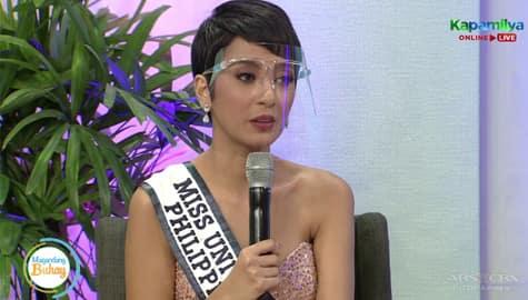 Magandang Buhay: Kimberly, sinabing naisipan niyang mag-quit noon sa Miss Universe Philippines Image Thumbnail