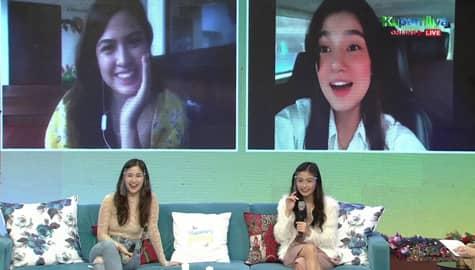 Magandang Buhay: Belle, ikinuwento kung paano siya naging close kina Charlie, Gillian at Alexa Image Thumbnail
