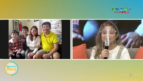 Magandang Buhay: Janine's touching message for her parents Image Thumbnail