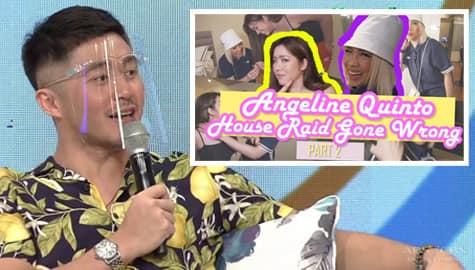 Magandang Buhay: Arron, may inamin tungkol sa lumabas na vlog nina Angeline at Vice Image Thumbnail
