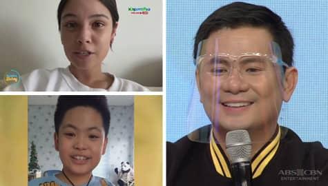 Magandang Buhay: Ogie, nakatanggap ng sweet messages mula sa kanyang mga anak Image Thumbnail