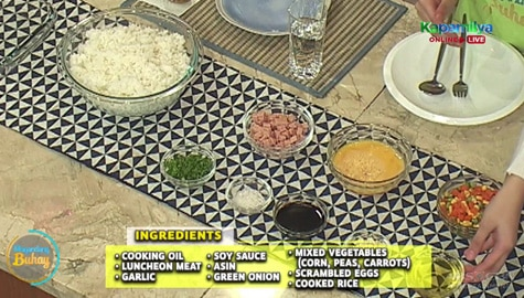 Magandang Buhay: Luncheon Meat Fried Rice recipe Image Thumbnail