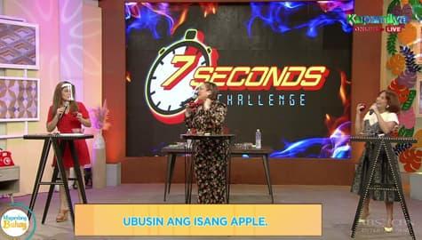 Magandang Buhay: 7 Seconds Challenge with Momshie Karla, Jolina and Melai Image Thumbnail