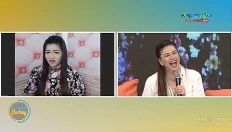 Magandang Buhay: Regine, masayang nakausap ang kanyang impersonator Image Thumbnail