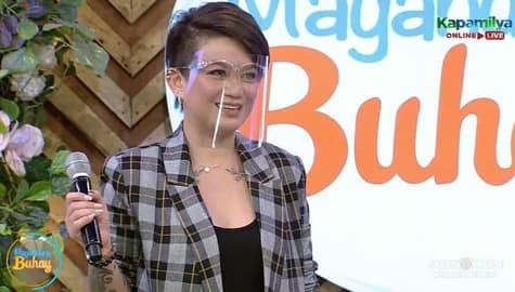 """Magandang Buhay: """"It made me stronger."""" Tuesday, ikinuwento ang mga pinagdaan nang maging single mom siya Image Thumbnail"""