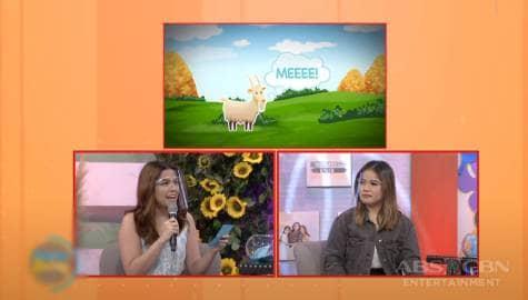 """Magandang Buhay: Alexa and Klarisse play """"Ka-SING Tunog"""" Image Thumbnail"""