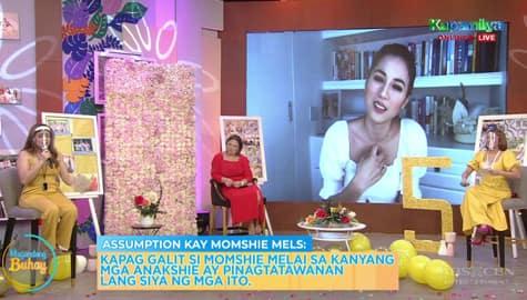 Magandang Buhay: Toni, sinabi ang assumptions niya kina Momshie Karla, Jolina at Melai Image Thumbnail