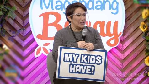 "Magandang Buhay: Janice de Belen plays ""Never Have My Kids Ever"""