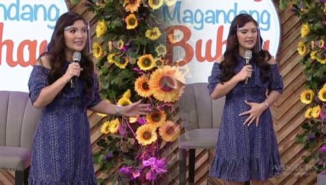 Magandang Buhay: Vina, ipinakita ang proper posture kapag kumakanta Image Thumbnail
