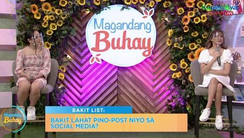 """Magandang Buhay: Sheena and Zephanie answer the """"Bakit List"""" Image Thumbnail"""