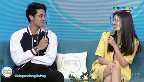 Magandang Buhay: Donny at Belle, inilarawan ang isa't isa Image Thumbnail
