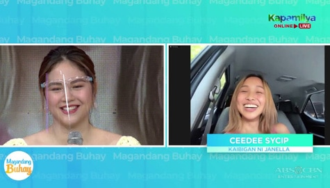 Magandang Buhay: Janella gets a surprise from her friend Image Thumbnail