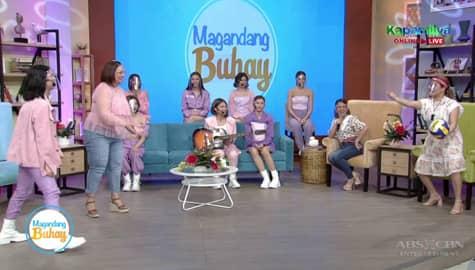 Magandang Buhay: Momshie Karla at Melai, masayang nakipaglaro ng volleyball kay BINI Mikha Image Thumbnail
