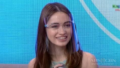 Magandang Buhay: Angelina, happy na dean's lister siya ngayon Image Thumbnail