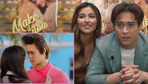 WATCH: LizQuen's funny reactions while watching their old movies Image Thumbnail