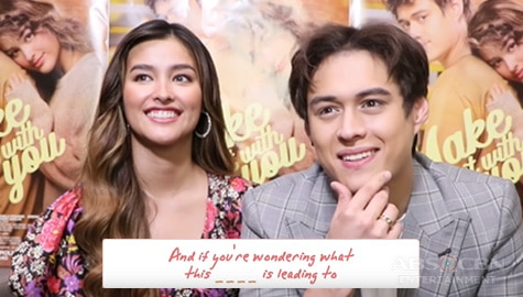 WATCH: LizQuen plays 'Complete The Lyrics' Image Thumbnail