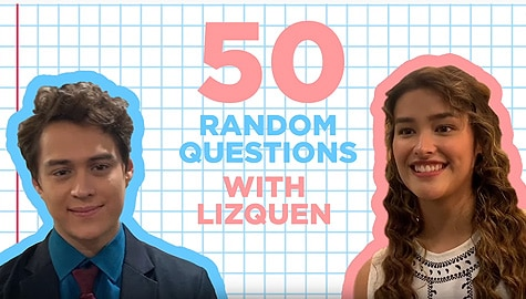 WATCH: 50 Random Questions with LizQuen