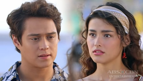 Lagkit-Tingin Moments of LizQuen in Make It With You