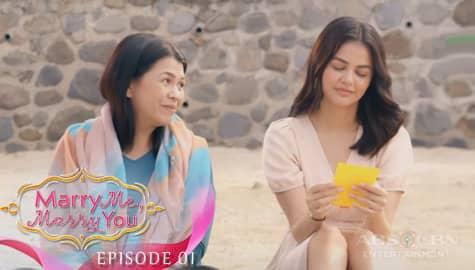 Marry Me, Marry You: Camille, naalala ang payo sa pag-ibig ni Judith | Episode 1 Image Thumbnail