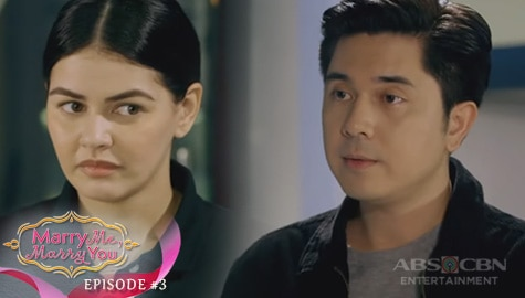 Marry Me, Marry You: Andrei, inalok ng trabaho si Camille | Episode 3 Image Thumbnail