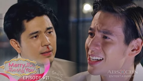 Marry Me, Marry You: Cedric, sinapak si Andrei dahil kay Camille | Episode 21 Image Thumbnail